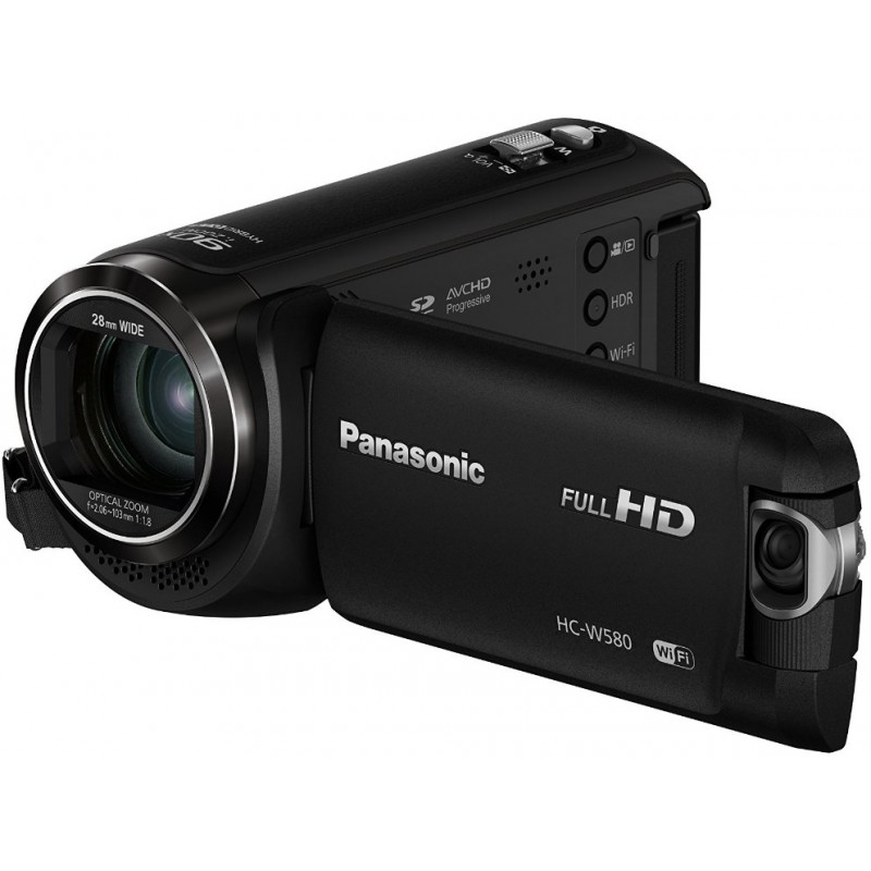 Panasonic HC-W580, black