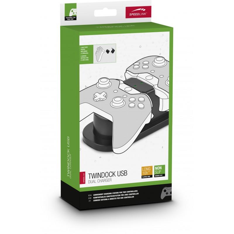 Speedlink charger Twindock Xbox, black (SL-250000-BK)