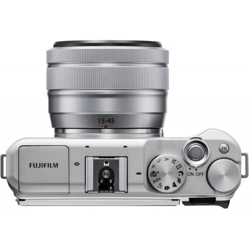 Fujifilm X-A5 + 15-45mm Kit, silver