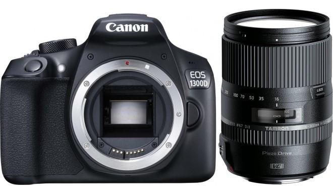 Canon EOS 1300D + Tamron 16-300mm VC PZD
