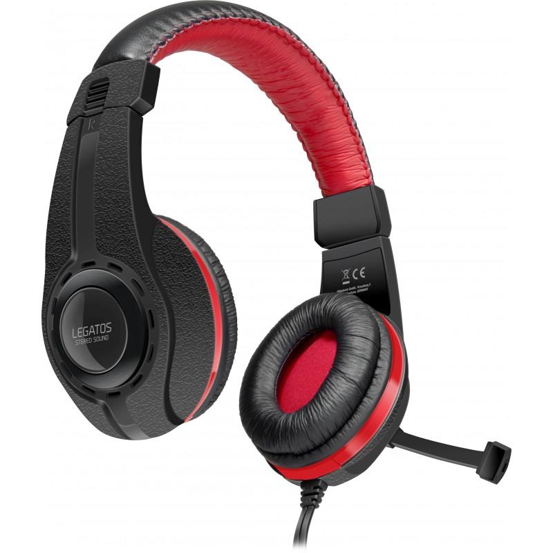 Speedlink kõrvaklapid + mikrofon Legatos (SL-860000-BK)