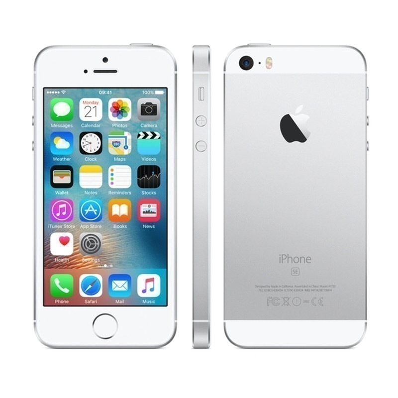 Apple iPhone SE 16GB, hõbedane
