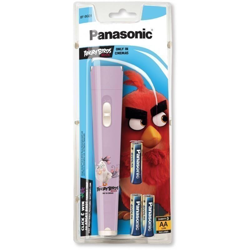 Panasonic torch BF-BG01 Angry Birds