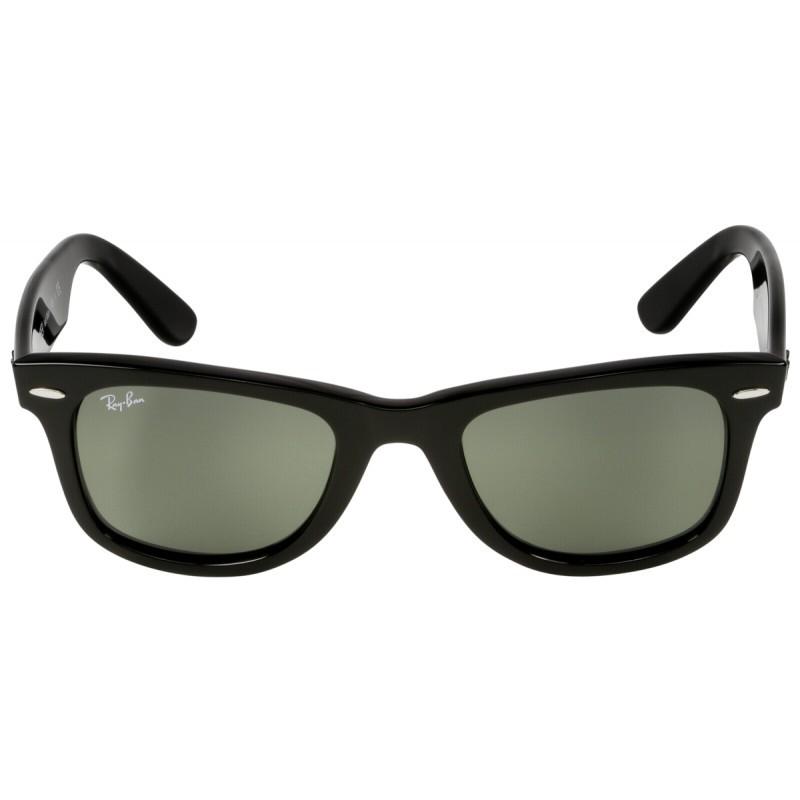 eb7af99bd89 RayBan Wayfarer RB2140 901 50 black crystal green - Sunglasses ...