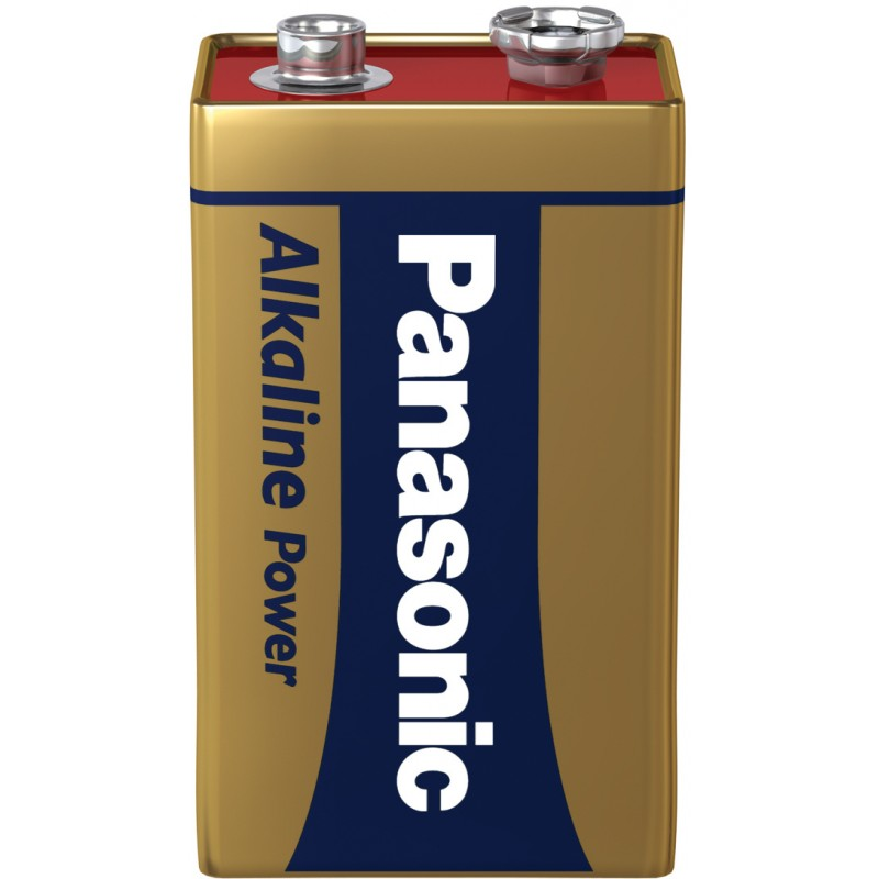 Panasonic battery 6LR61APB/1B 9V