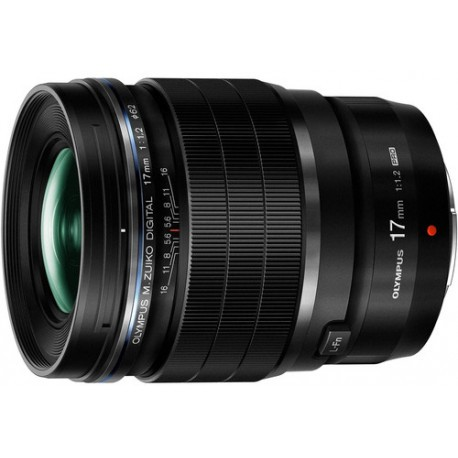 M.Zuiko Digital 17mm f/1.2 PRO lens, black
