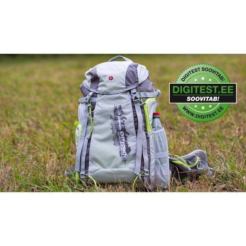 Manfrotto seljakott OffRoad Hiker 30L, roheline