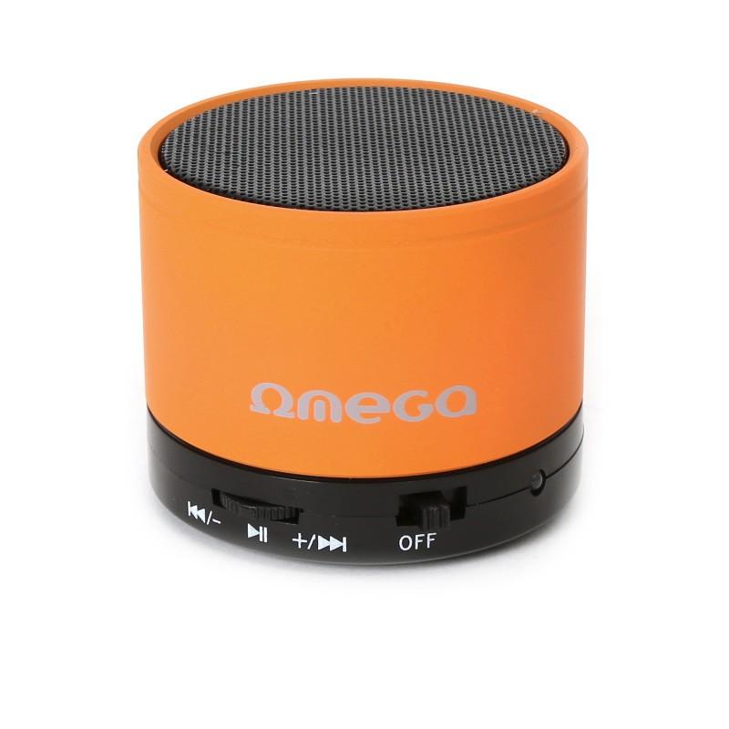 Omega Bluetooth kõlar V3.0 Alu 3in1 OG47O, oranž (42645)