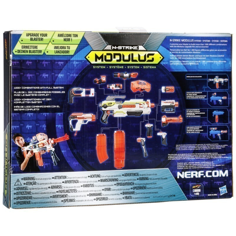 Nerf gun N-Strike Elite XD Modulus Mission Kit Strike & Defend