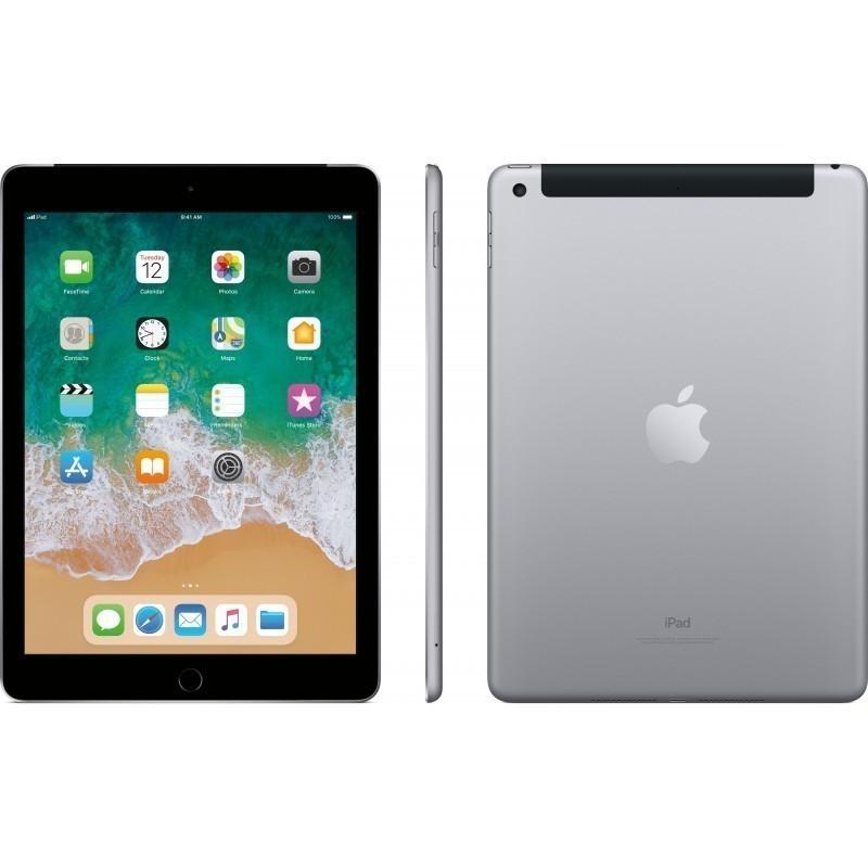 Apple iPad 32GB WiFi + 4G, серебряный (2018)