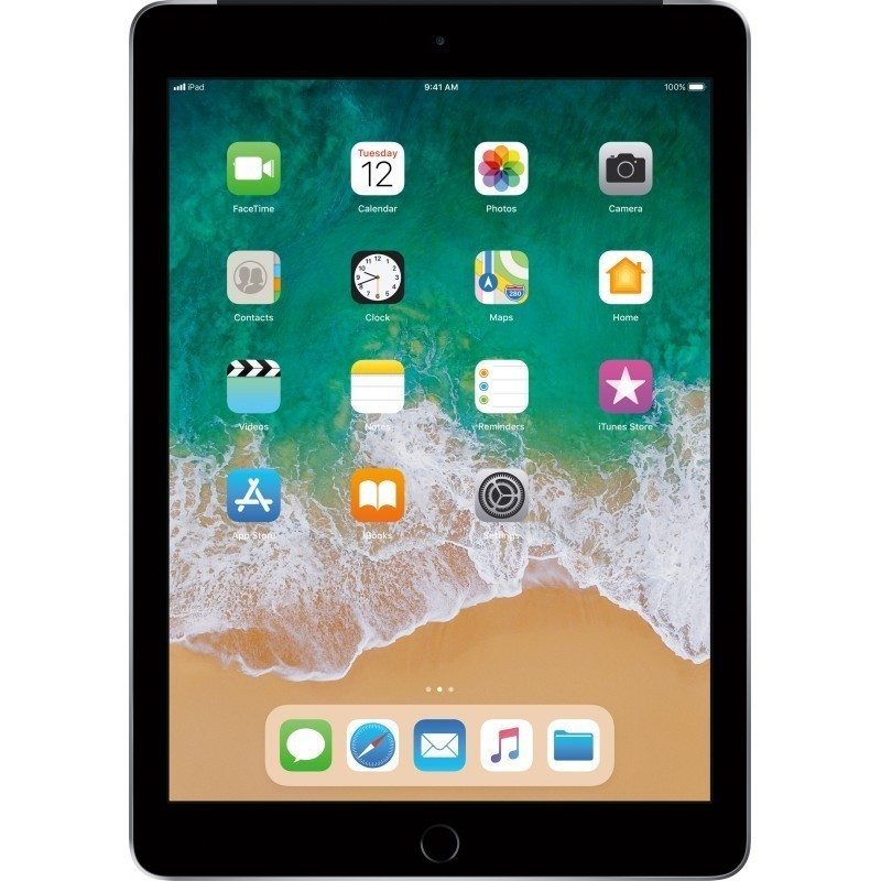 Apple iPad 32GB WiFi + 4G, space grey (2018)