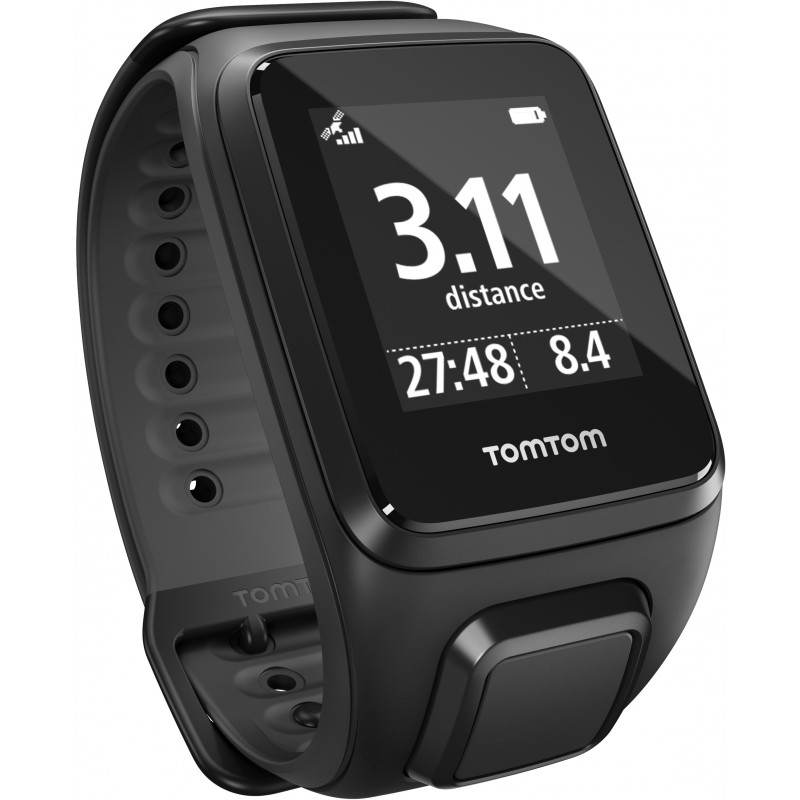 TomTom Spark Cardio L, must