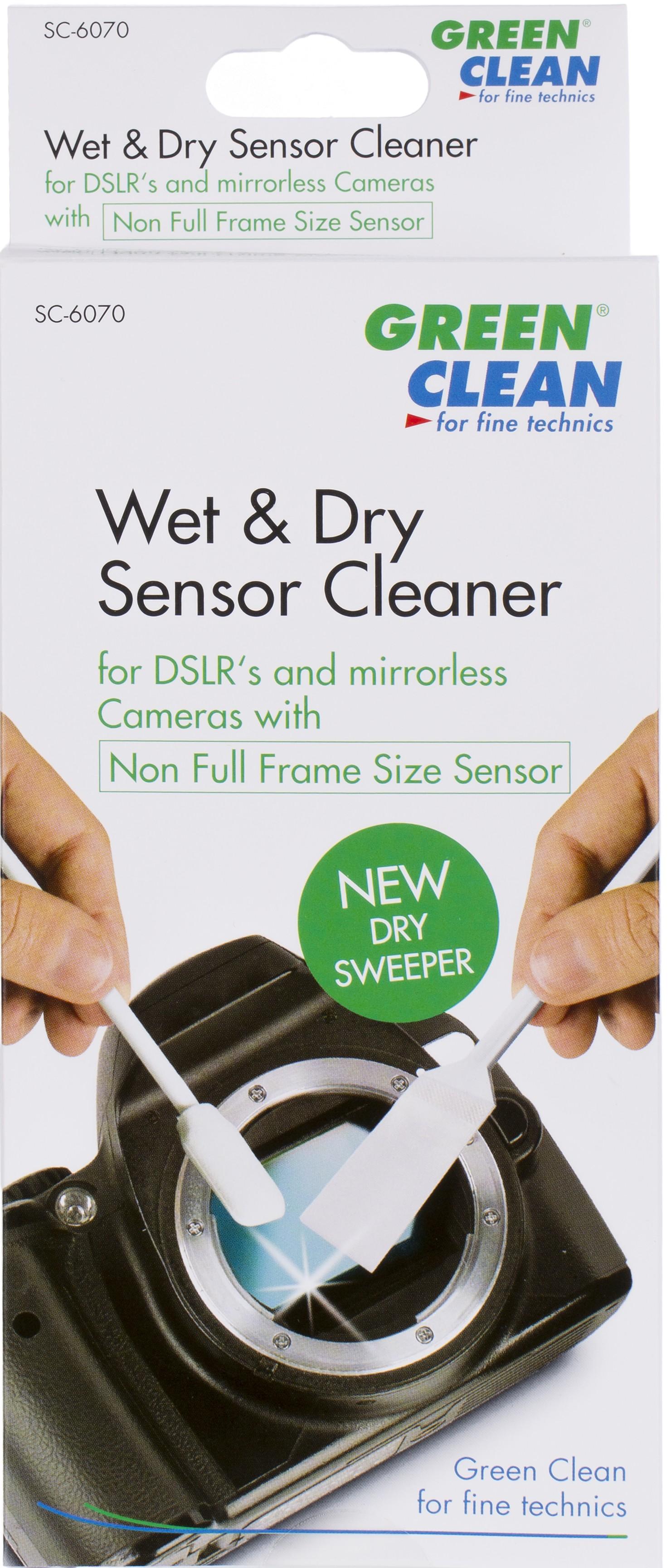 Green Clean puhastuspulgad Wet Foam Swab & Dry Sw..