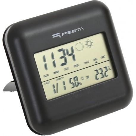 Fiesta digitālā laika stacija FSTT03, melna (42292)