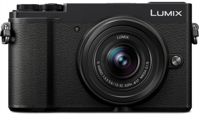 Panasonic Lumix DC-GX9 + 12-32 мм Kit, черный