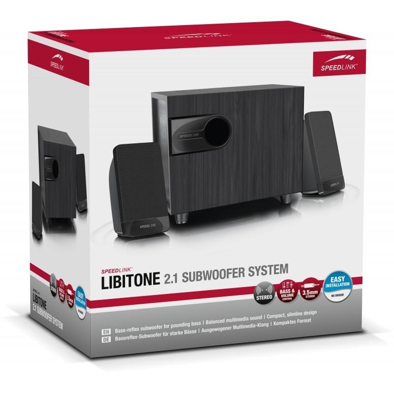 Speedlink kõlarid Libitone 2.1 (SL-820007)