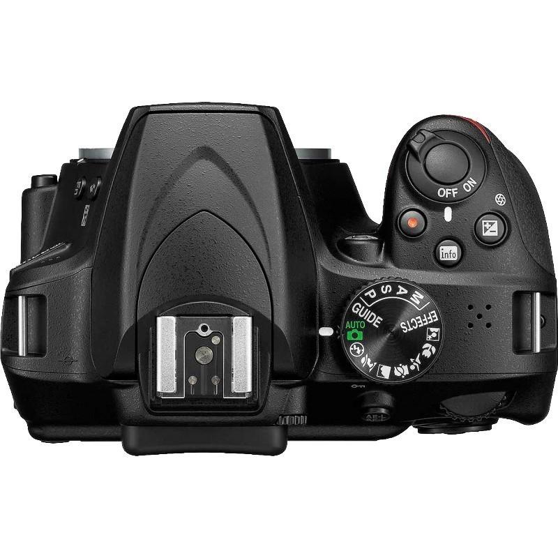 Nikon D3400 + Tamron 16-300mm, black