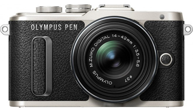 Olympus PEN Lite E-PL8 + 14-42mm EZ Kit, black