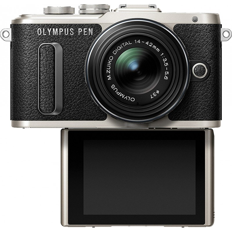 Olympus PEN E-PL8 + 14-42mm EZ Kit, black
