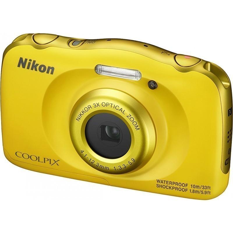 Nikon Coolpix W100, kollane