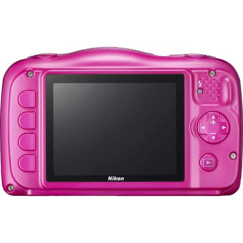 Nikon Coolpix W100, roosa