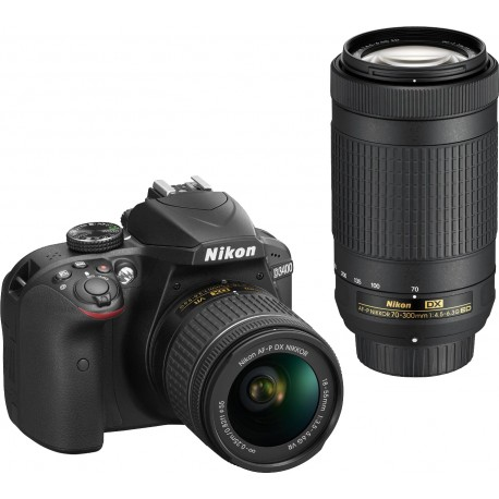 Nikon D3400 + 18-55mm AF-P + 70-300mm Kit, must