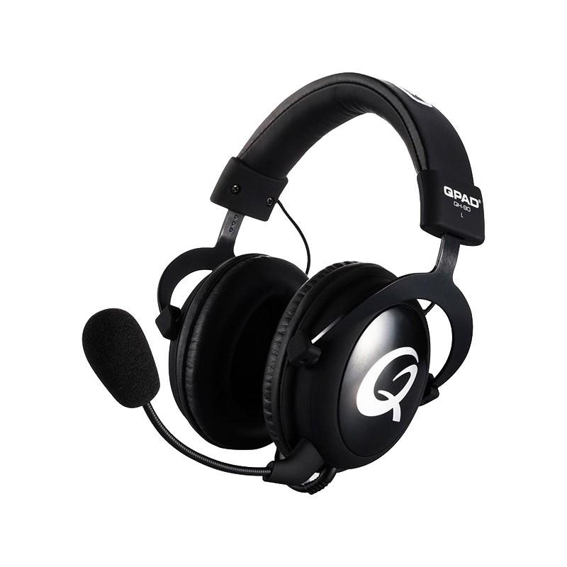QPad kõrvaklapid + mikrofon QH-90, black