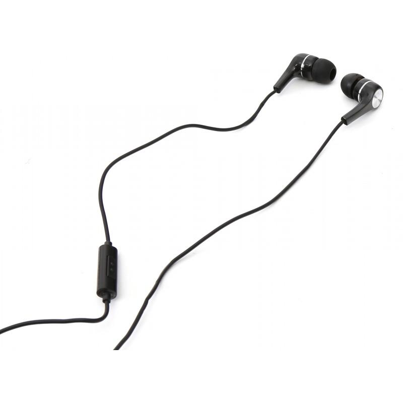 Fiesta kõrvaklapid + mikrofon XT-7210, must (43505)