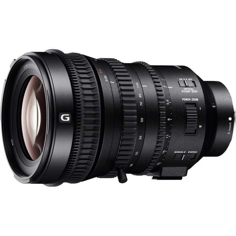 Sony E PZ 18-110mm f/4 G OSS objektiiv