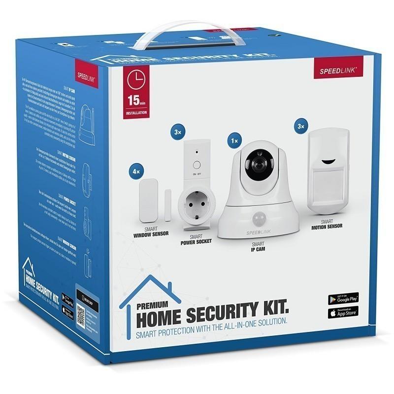 speedlink home security set premium smart home kits. Black Bedroom Furniture Sets. Home Design Ideas