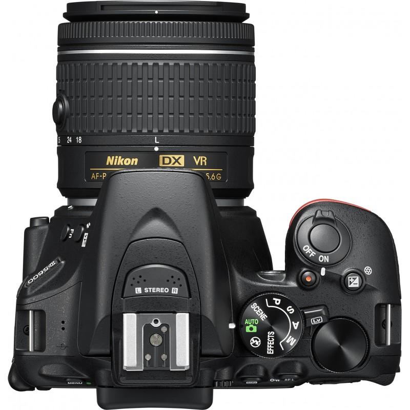 Nikon D5600 + 18-55mm AF-P VR Kit, black
