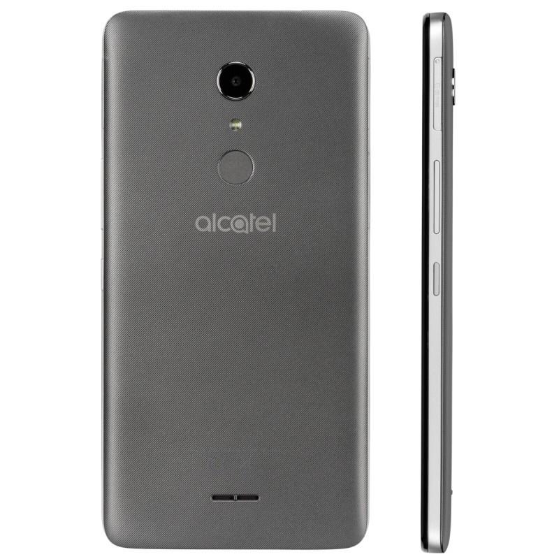 alcatel a3 xl 9008d 16gb grey silver smartphones photopoint. Black Bedroom Furniture Sets. Home Design Ideas