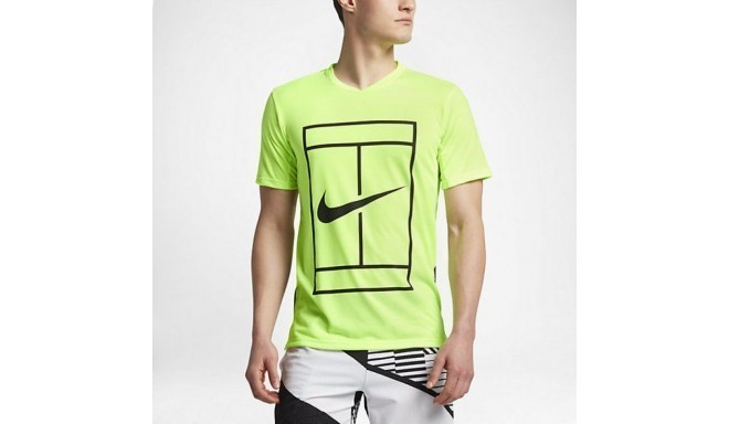 Tennis shirt for men Nike Court Dry Top Baseline M 848388-367