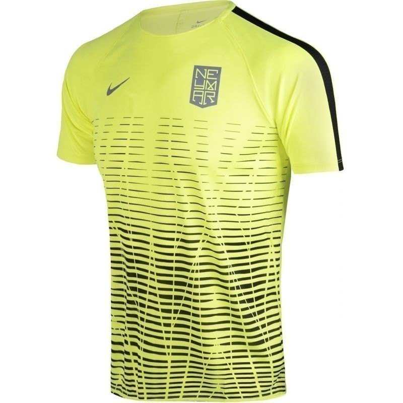 check out 11d25 b3e0f Kids football shirt Nike Dry Squad Top SS Neymar Junior 890800-702