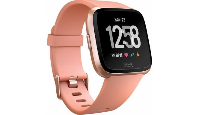 Fitbit Versa, peach/rose gold