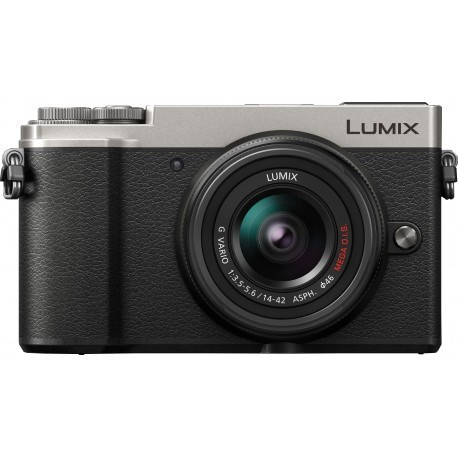 Panasonic Lumix DC-GX9 + 14-42mm Kit, sudrabots