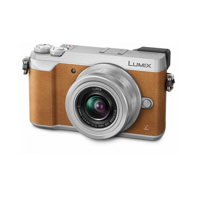 Panasonic Lumix DMC-GX80 + 12-32mm Kit, brown