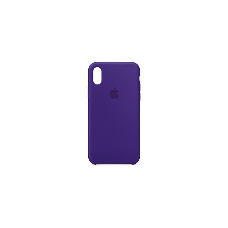 competitive price c3a35 845c6 Apple Silicone Case iPhone X, ultra violet