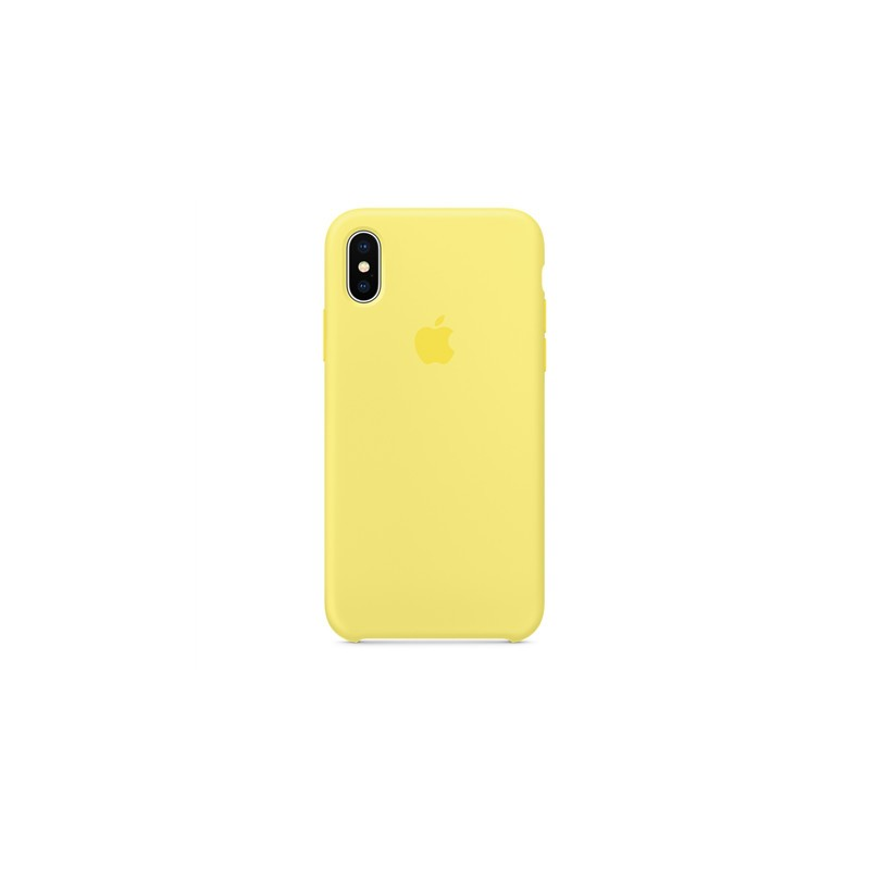 huge selection of d85cb fb940 Apple Silicone Case iPhone X, lemonade