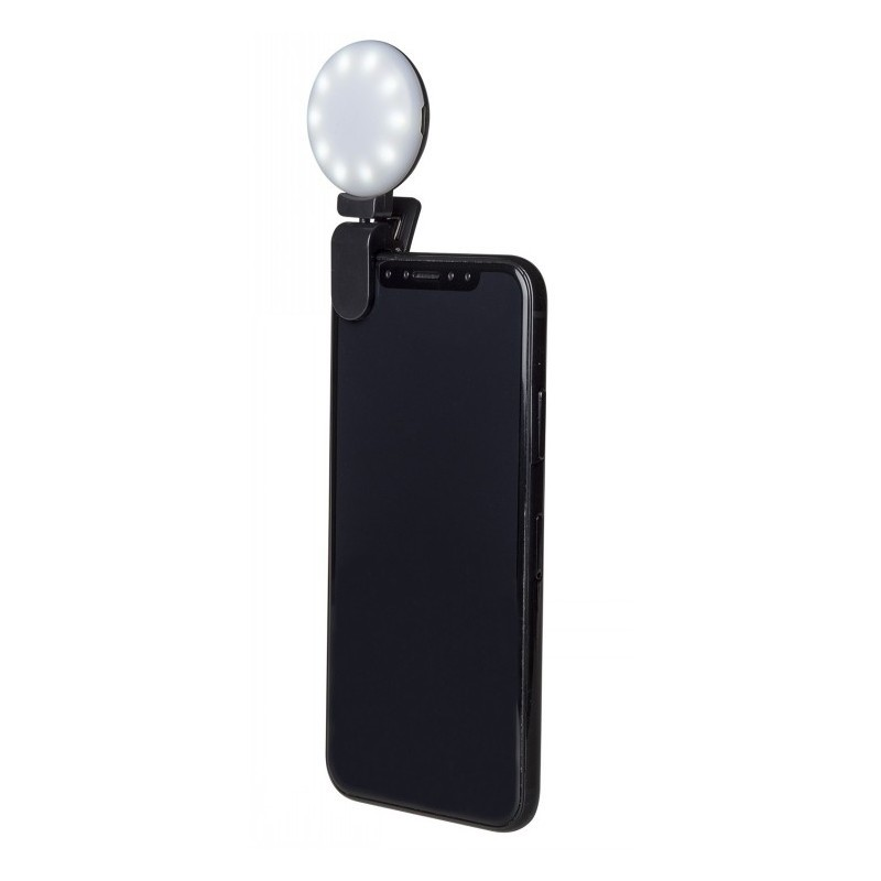 CELLY SELFIE FLASH LIGHT BLACK