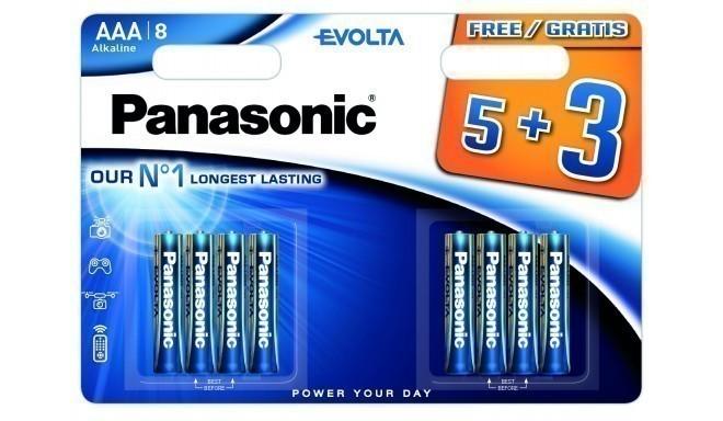 Panasonic Evolta patarei LR03EGE/8B (5+3)