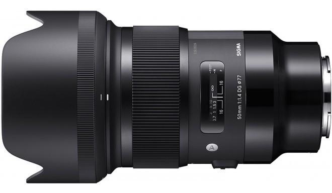 Sigma 50mm f/1.4 DG HSM Art objektiiv Sonyle