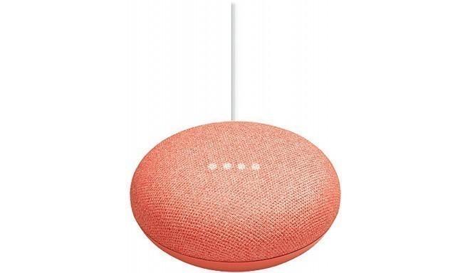 Google Home Mini nutikõlar, coral