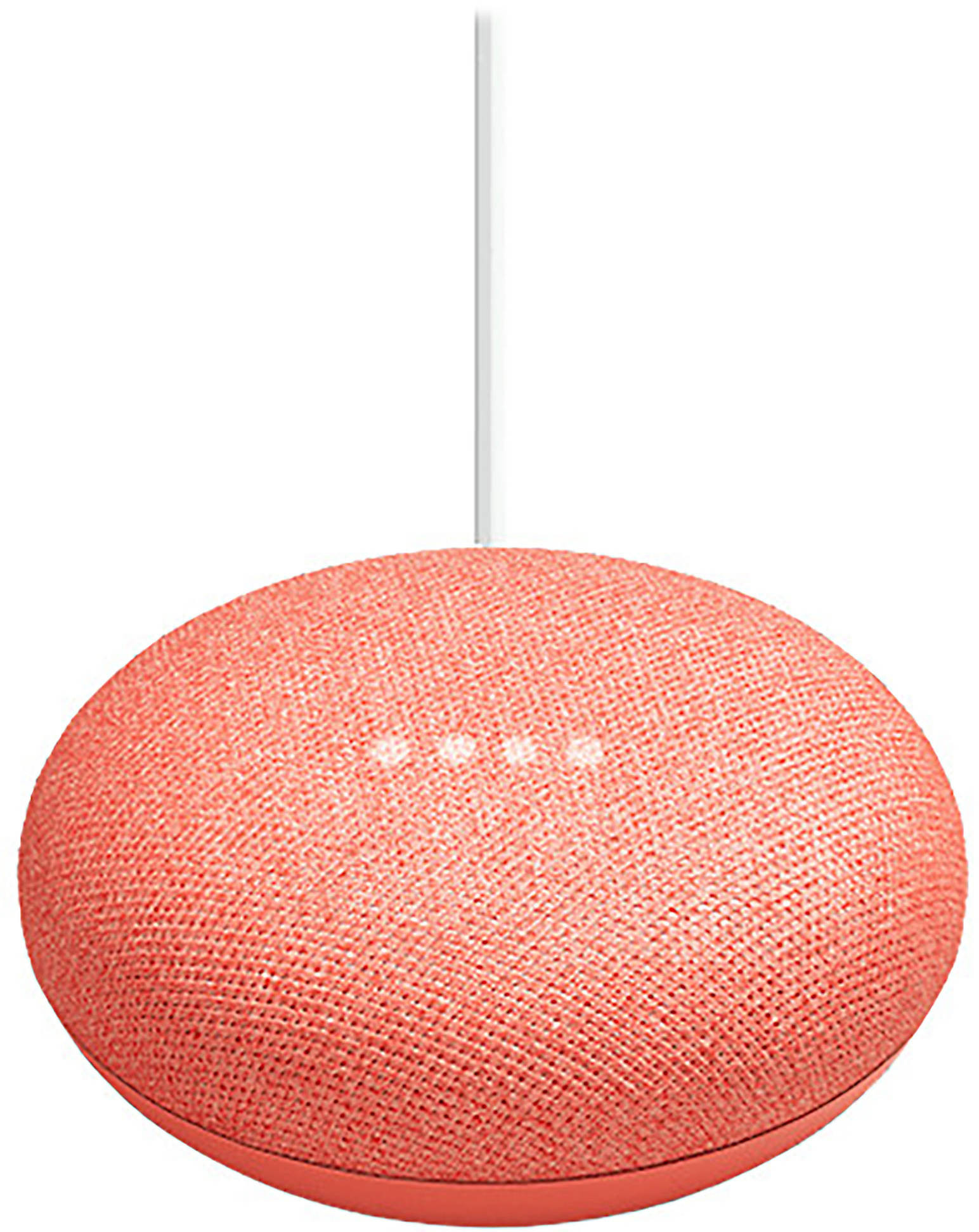 Google Home Mini nutikõlar, coral