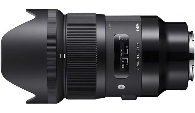 Sigma 35mm f/1.4 DG HSM Art objektiiv Sonyle