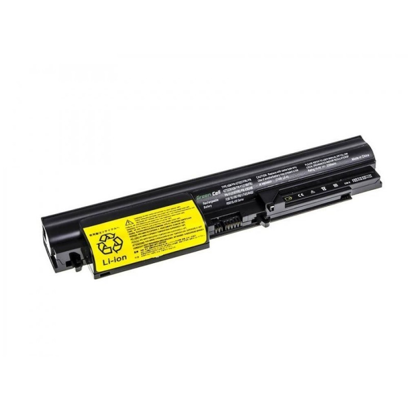 a76ede2f42f Battery Green Cell for Lenovo IBM Thinkpad T61 R61 T400 R400 ...