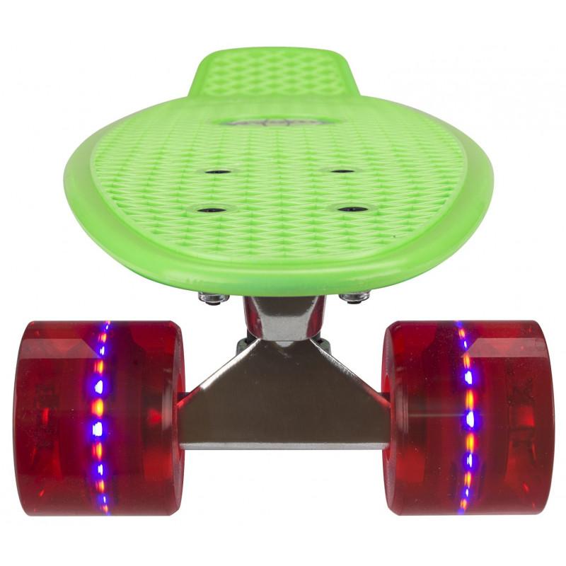"""LED valgustusega plastik rula Nijdam® 22,5""""  ROHELINE 52ND_GRR"""