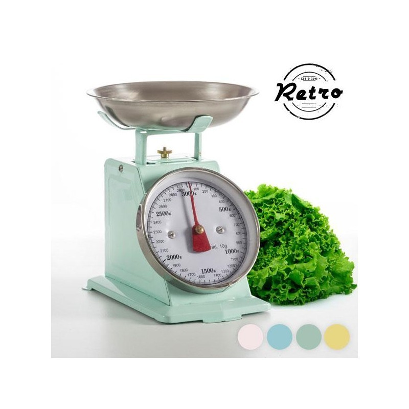Retro Kitchen Scales (Pink)