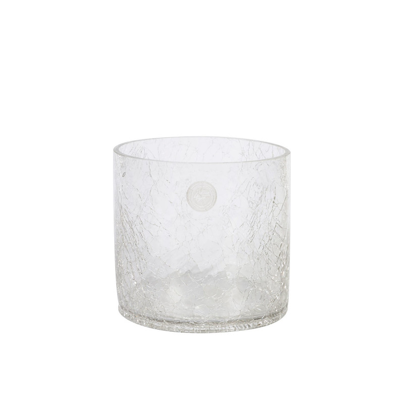 Vase Crack D14xh14cm Cracked Glass Vases Photopoint