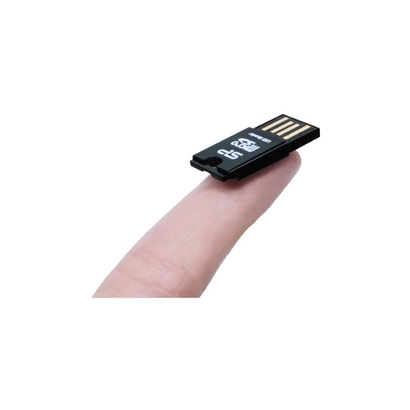 Silicon Power mälukaardilugeja Key USB + microSDHC 32GB mälukaart